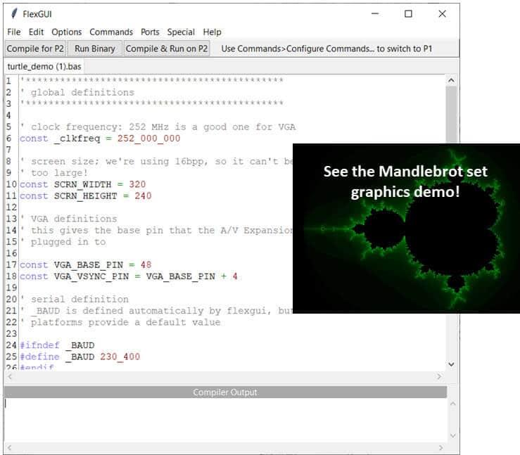 Multi-language Development with on Propeller 2