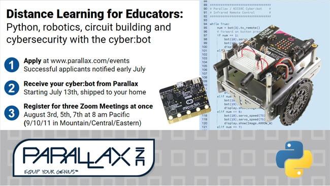 Python and Robotics Distance Learning Workshop