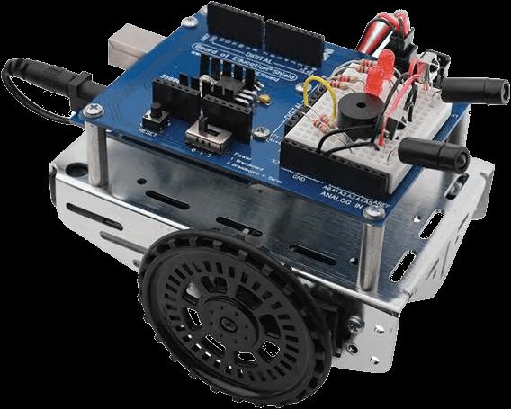 shield bot for arduino - blue board